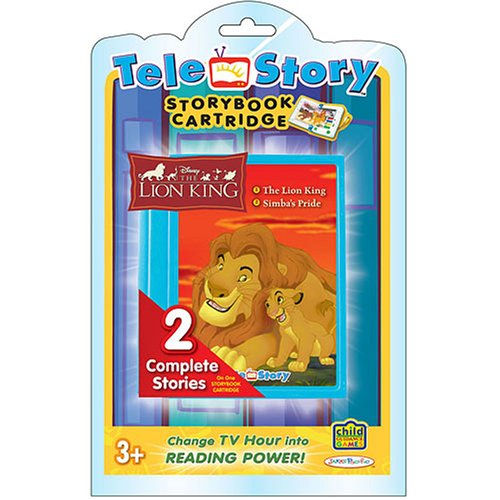 (Storybook Lion King Cartridge For TeleStory System)