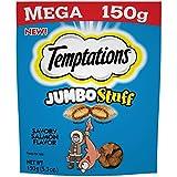 Cheap Temptations MEGA Jumbo Stuff Savory Salmon Flavor (1-Bag) (NET WT 5.3 OZ)