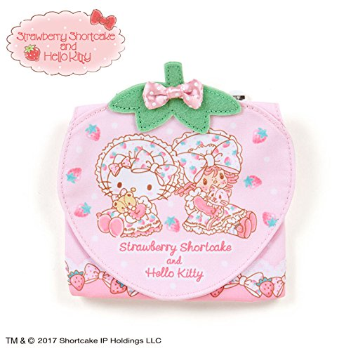 Sanrio Hello Kitty × Strawberry Shortcake pocket pouch From Japan New (Strawberry Shortcake Outfits For Toddlers)