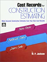 Cost Records for Construction Estimating