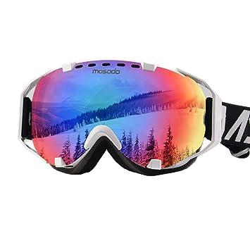 d7fdc1dde5f MOSODO Gafas de esquí Elite con protección UV400