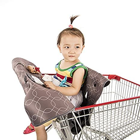 Amazon.com: joylink comestibles Carrito de la compra cubre y ...