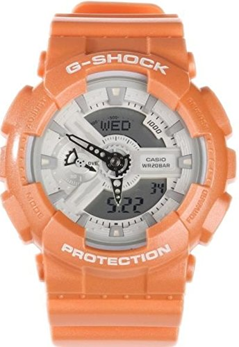 Casio G-Shock Orange Watch GA110SG-4A by Casio