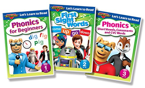 Workbook consonant trigraphs worksheets : Amazon.com: Let's Learn to Read 10-DVD Collection by Rock 'N Learn ...