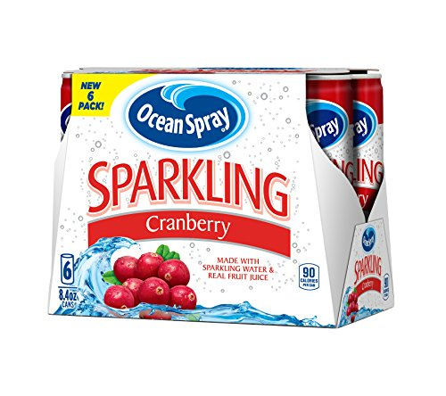 ocean spray sparkling cranberry - 1