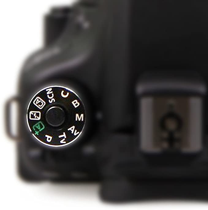 FANSONG Dial de modo adhesivo plato de repuesto parte para Canon ...