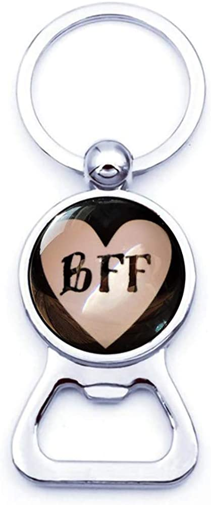 Sunshine Best Friends Forever Black Bottle-openers, Love, Friendship, You are My Friend, Friend Gift, BFF
