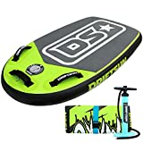 Driftsun Mako Inflatable Bodyboard with RigidAir Drop Stitch Technology, 42 inch Long x 25 inch Wide, Portable