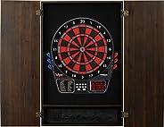 Viper Metropolitan Electronic Soft Tip Dartboard & Cabinet Bundle: Deluxe Set (797 Dartboard and Darts), E