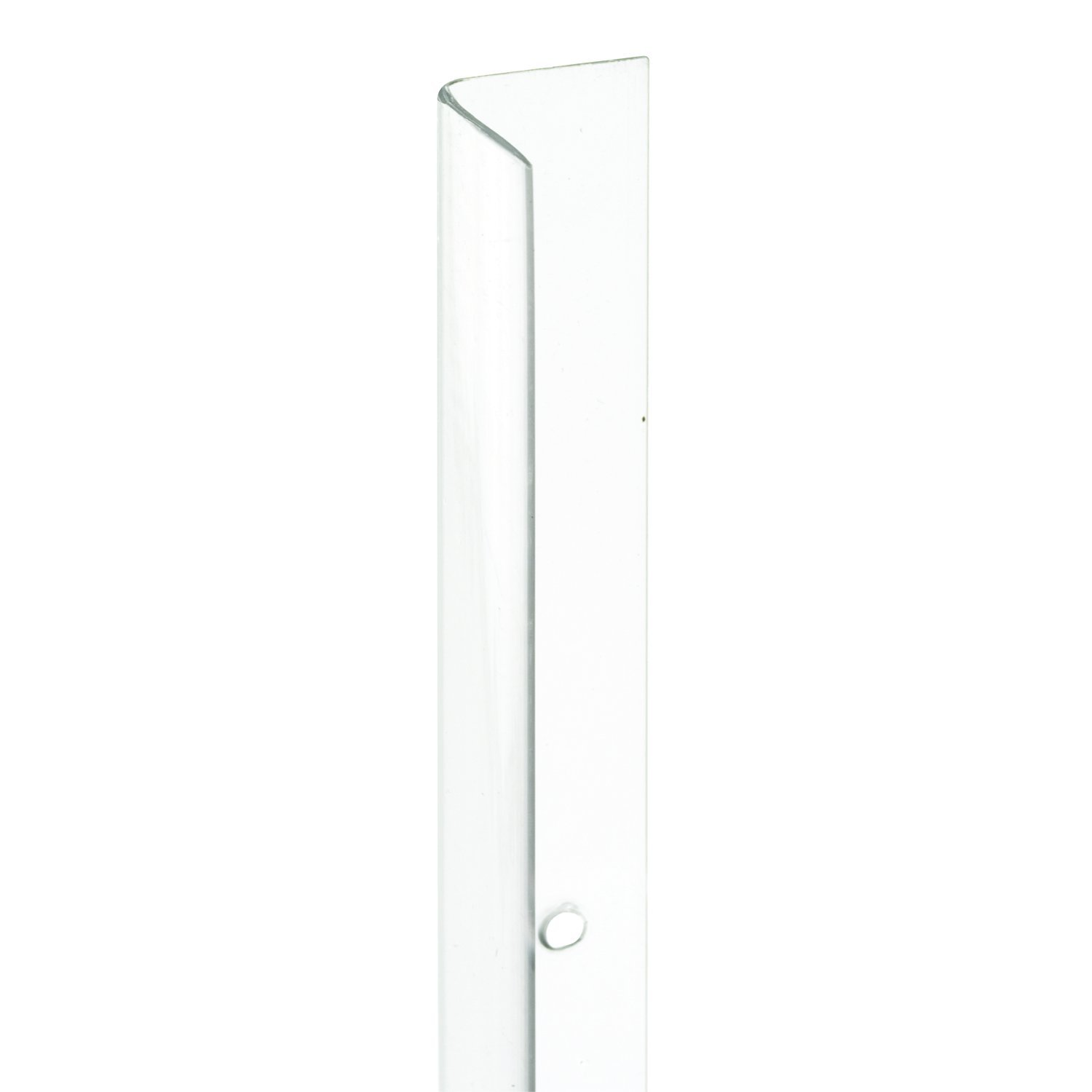 Prime-Line Products U 9129-4 Corner Shield, 3/4 In. x 48 In, Vinyl, Clear, Pack of 4