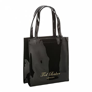 3ca3ee27c07 Buy Ted Baker Small Icon Tote Bag in Black Online at Low Prices in India -  Amazon.in