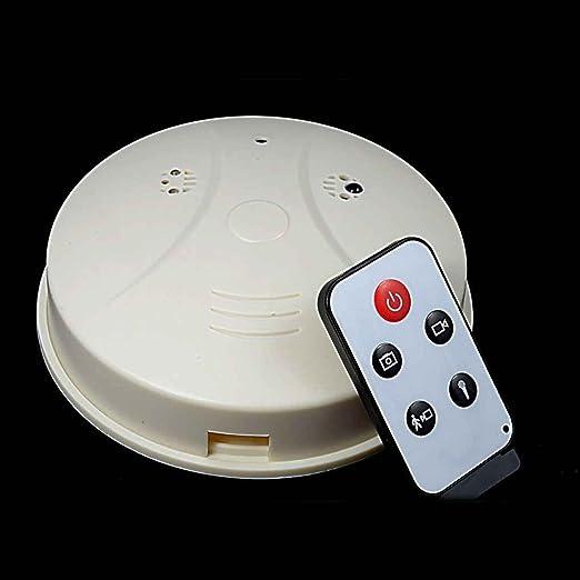 Mini cámara oculta del registrador de vídeo de la detección del movimiento del detector de humo de la cámara del monitor de HD DVR: Amazon.es: Electrónica