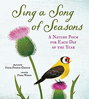 Book Cover: Sing a Song of Seasons: A Nature Poem for Each Day of the Year