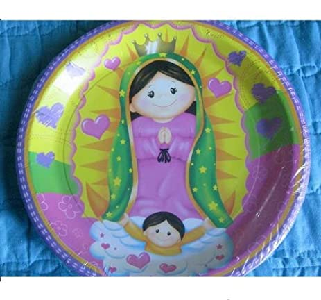 Amazon.com: VIRGENCITA GUADALUPE Party Baptism FAVOR Birthday LUNCH ...