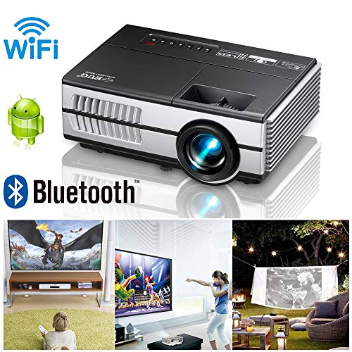EUG Android Mini Projector with WiFi Bluetooth