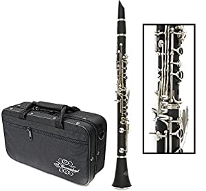 Carmichael Evolution Bb Clarinet - Hard Case, Long & Short Barrels and Mouthpiece Kit