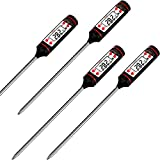 4 Pack Meat Thermometer Digital BBQ Cooking Thermometer With Instant Read