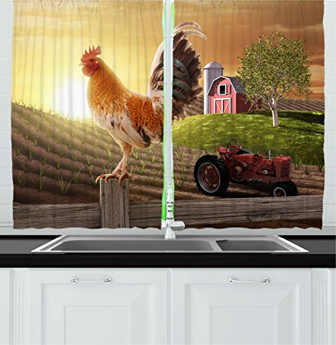 Kitchen Curtains bird kitchen curtains : Birds Kitchen Curtains: Amazon.com