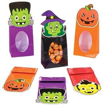 Baker Ross - Bolsas de dulces para Halloween para niños (8 ...