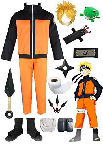 (YOUYI Naruto Uzumaki Anime Halloween Cosplay Costume (S))