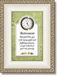 Retirement New Journey Table Clock Plaque with Christian Verse Review