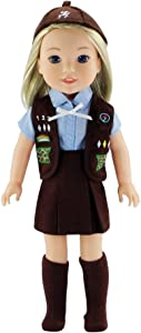 Emily Rose 14 Inch Doll Clothes   6 Piece 14