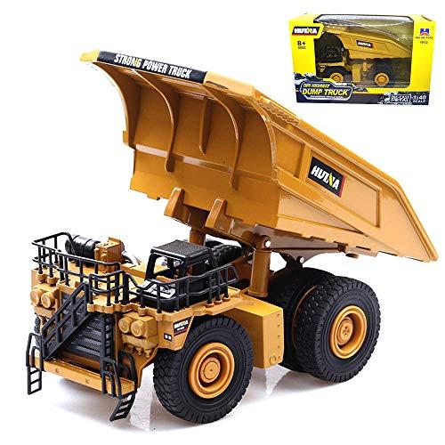 Mining Dump Trucks - Ailejia 1/40 Scale Alloy Mining Dump Trucks Car Models Construction Vehicle Model Engineering Car Toy Mine Car Boy Gift (Mine car)