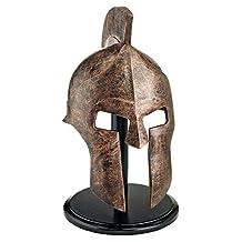 Design Toscano WJ4571 Greek Spartan Helmet, Silver