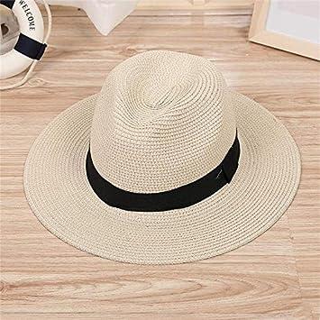 HEHEXIY Sombras Sombrero Sombrero para el Sol Cinta Redonda con ...