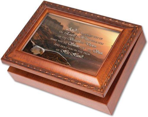 売り切れ必至! Cottage B01K1W12F8 Garden Raise Up You Up Woodgrain Music Box Garden/ Jewelry Box Plays On Eagles Wings [並行輸入品] B01K1W12F8, リコロshop:248b9658 --- arcego.dominiotemporario.com