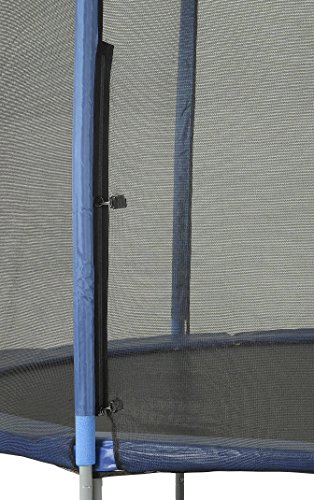 Upper Bounce 8 Pole Trampoline Enclosure Set to fit 15 FT. Trampoline Frames with Set of 4 or 8 W-Shaped Legs (Trampoline Not Included) by Upper Bounce (Image #2)