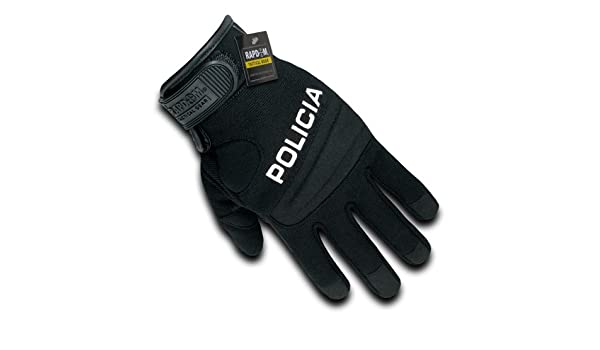 Digital Leather Duty Tactical Gloves Policia Rapdom T29 BLK