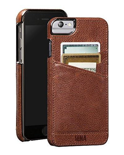 Sena Lugano Wallet Genuine Leather Case for iPhone 6/6S Plus - Iphone Cases Sena