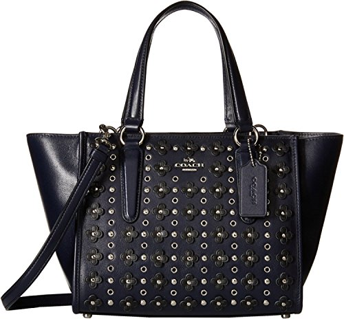 COACH Womens Floral Rivets Crosby