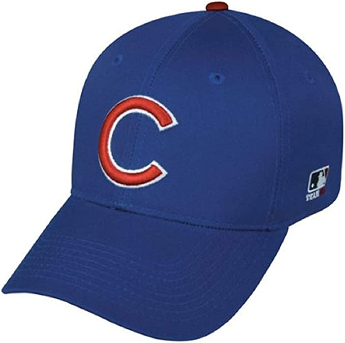 BRAND NEW CUBS BASEBALL CAP HAT OFFICIAL UNIFORM ONE SIZE