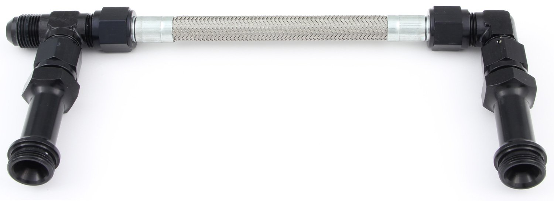 -8 4150 Fuel Line Kit Fragola 920023-BL Pro Stock Black Size