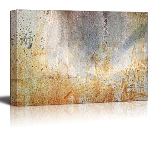 YEHO Art Gallery Canvas Prints Wall Art Oil Paintings for Livingroom Bedroom Abstract Canvas Art Rusty Iron Slate Composition Giclee Print Home Decoration 20