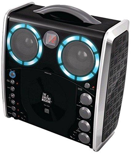 3 opinioni per Singing Machine SML383BK Impianto per Karaoke Portatile con Lettore CD-G e 3 CDG