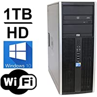 HP DC7900 Mini Tower Computer PC (Intel Core 2 Duo 3.00GHz, 1TB HDD, 4GB RAM Windows 10 Pro) (Refurb)