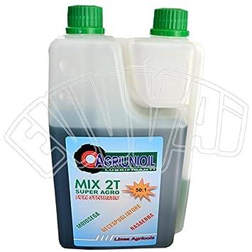 1 lt Aceite Mix 100% sintético con dosificador 50: 1 para motor de ...