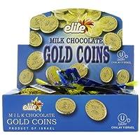 Caja de monedas de chocolate con leche de élite de 24 bolsas de malla (0.53 oz cada una)