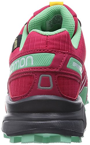 3 Pink Black GTX Lotus Speedcross Salomon Damen Green Lucite Rot Traillaufschuhe 405cOqw