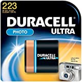 Duracell Ultra 223 CR-P2 Camera Battery
