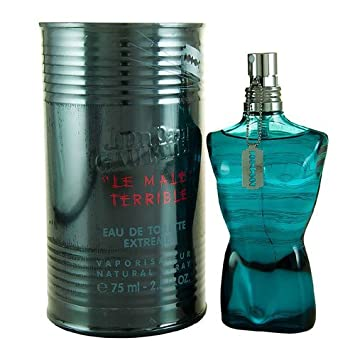 8f110bab678 Le Male Terrible FOR MEN by Jean Paul Gaultier - 75 ml EDT Extreme Spray   Amazon.co.uk  Beauty
