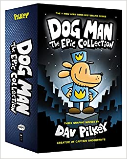 Amazon.com: Dog Man: The Epic Collection: From the Creator of Captain Underpants (Dog Man #1-3