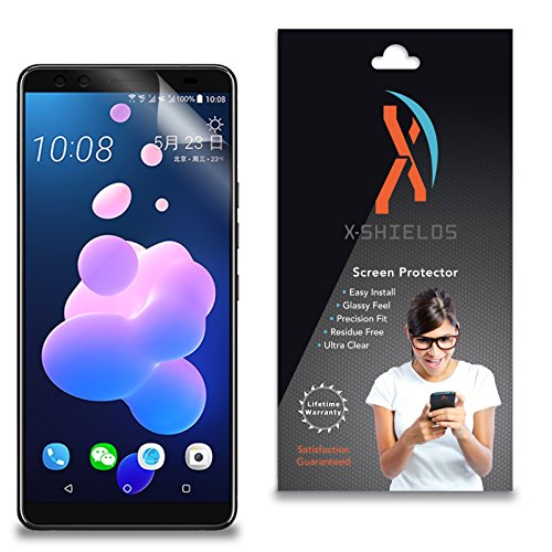 XShields High Definition (HD+) Screen Protectors for HTC U12 Plus (Maximum Clarity) Super Easy Installation [5-Pack], Advanced Touchscreen Accuracy
