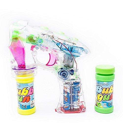 Led Light Up Bubble Gun in US - 5