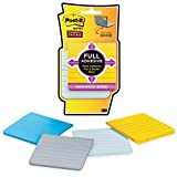 Super Sticky Notes, 3''x3'', 4/PK, Assorted - 2pc