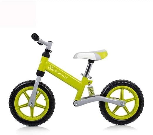JHDUID Equilibrio para niños Scooter de Bicicleta No Foot Slider ...
