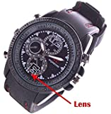 SPYCLOUD Spy Wrist Watch 16GB memory Hidden Audio/video Recording .While recording no light Flashes